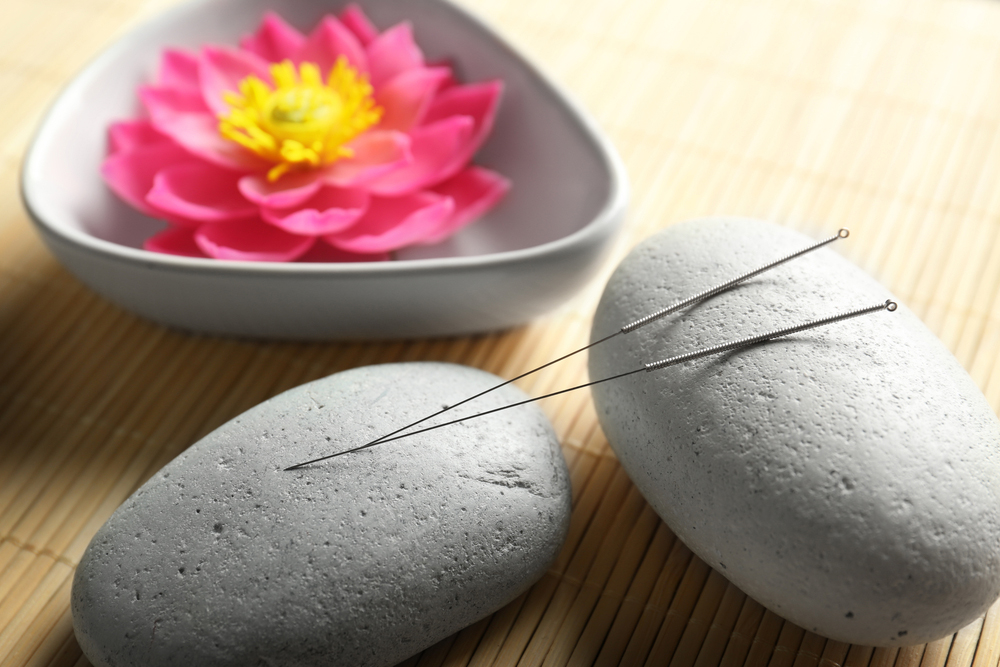 acupuncture and flower
